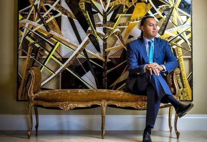 black real estate developer