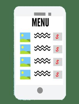 restaurant online menu