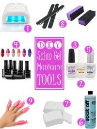 Do It Yourself Salon Gel Nails at Home