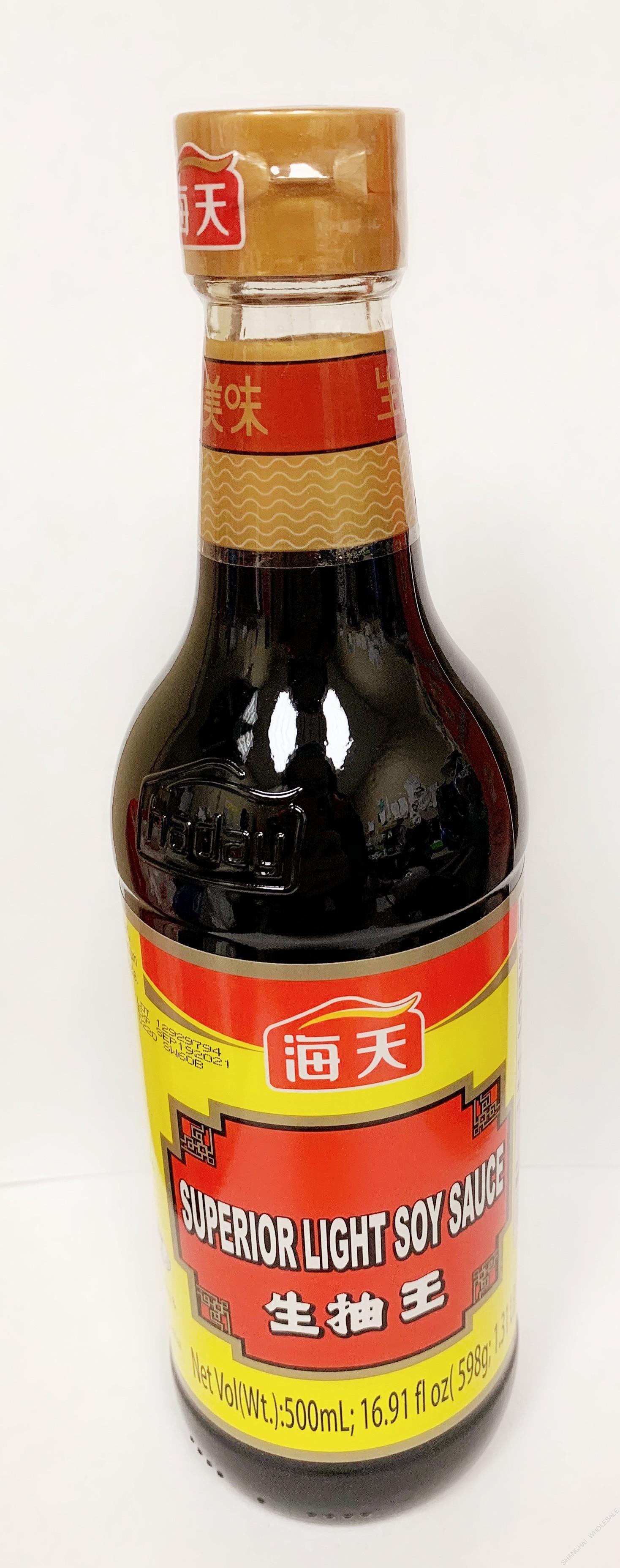 海天 - 生抽王(500ML)