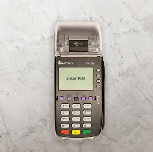 Verifone VX520_Top_view