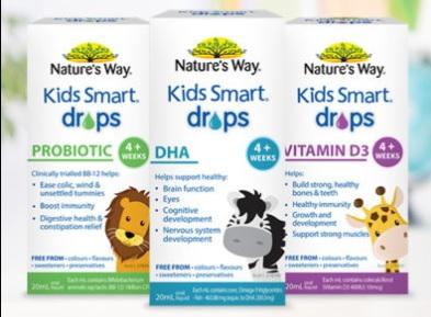 Nature's Way 佳思敏兒童營養滴劑系列 – 澳洲好物分享
