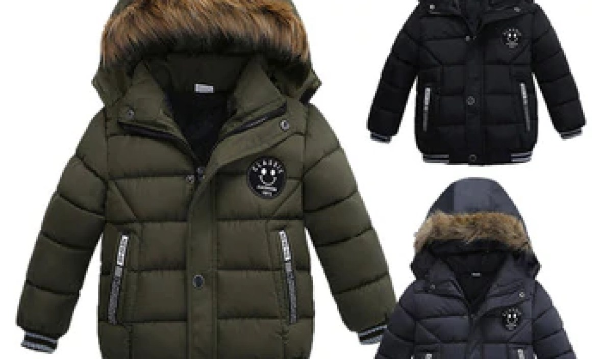 CHAMSGEND Fashion Kids Coat Boys Girls Thick Coat Padded Winter Jacket Clothes  OCT17HY