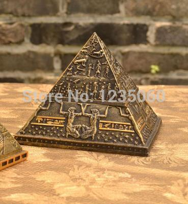 Egypt theme Pyramid box coffin mummy statue pharaoh sarcophagus ANCIENT EGYPT Real life escape game props