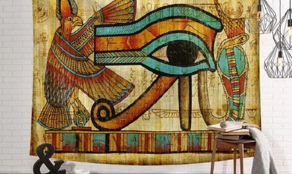 Ancient Egypt Tapestry Mandala Wall Hangings Ethnic Style Eyes tapestry indian hanging Tenture Murale Mandala Tapestry Blanket