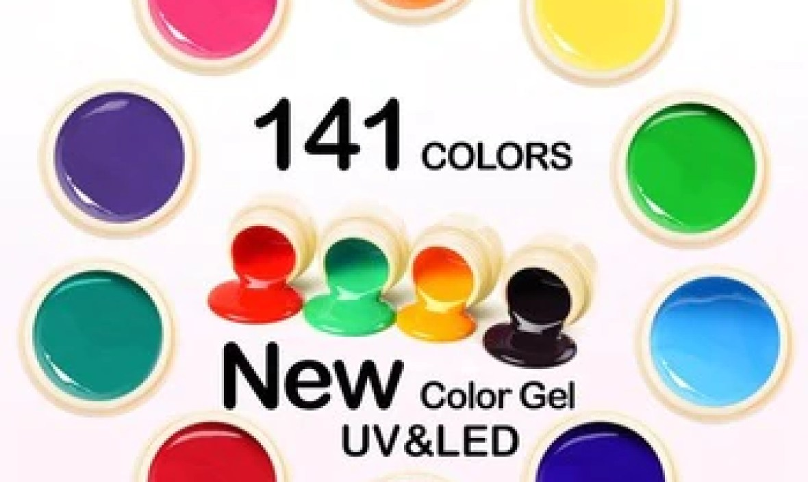 Venalisa UV Gel New 2019 Nail Art Tips Design Manicure 180 Color UV LED Soak Off DIY Paint Gel Ink UV Gel Nail Polishes Lacquer