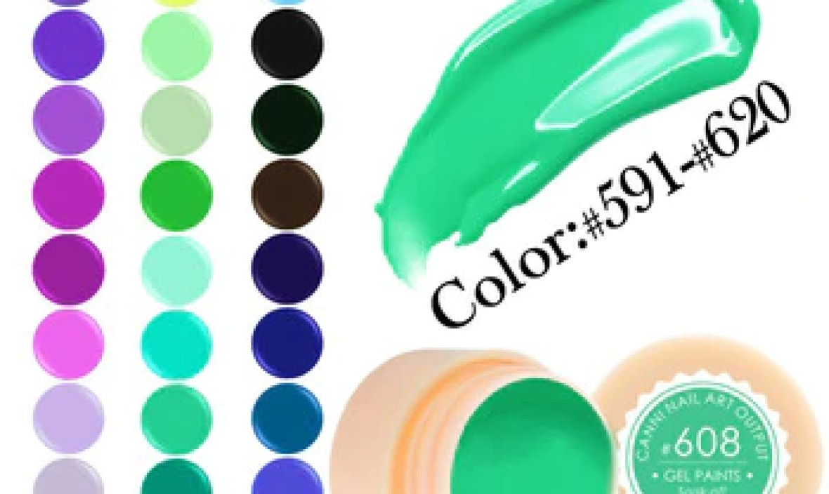 Venalisa 5ml white jar Pure Color nail Art gel Paint Gel Tips DIY Decoration CANNI Factory Price Painting LED&UV Gel paint