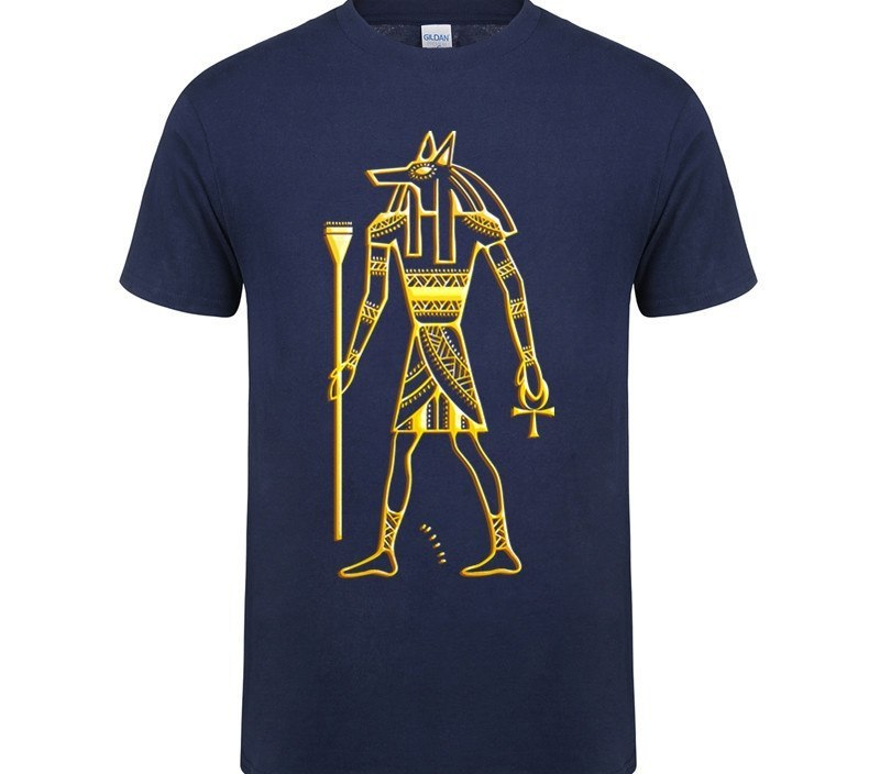 2019 summer funny Horus Ancient Egypt legend Anubis Pharaoh Pyramids short sleeve t shirts cool jersey Egypt tee clothes