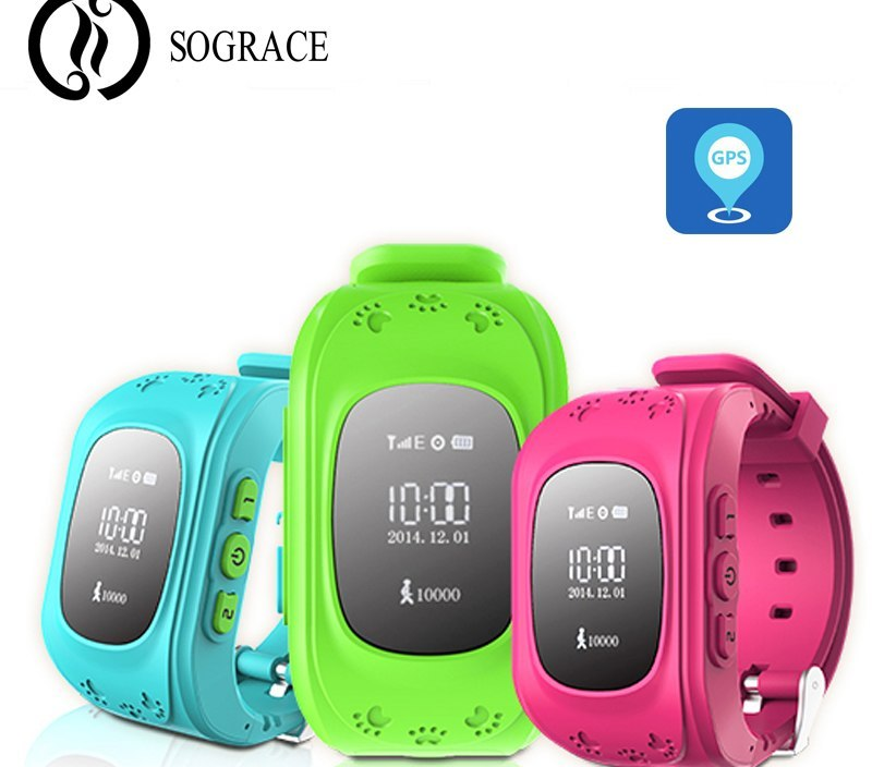 Smart Watches Q50 GPS Kids Watches Baby Smart Watch With Anti Lost Second Generation Chip SOS Call Location Finder Smartwatch