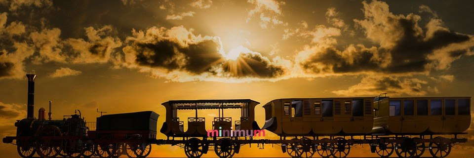 Sale Home Decoration DIY 5D Cross Stitch Train Panoramic View Sunset Diamond Painting