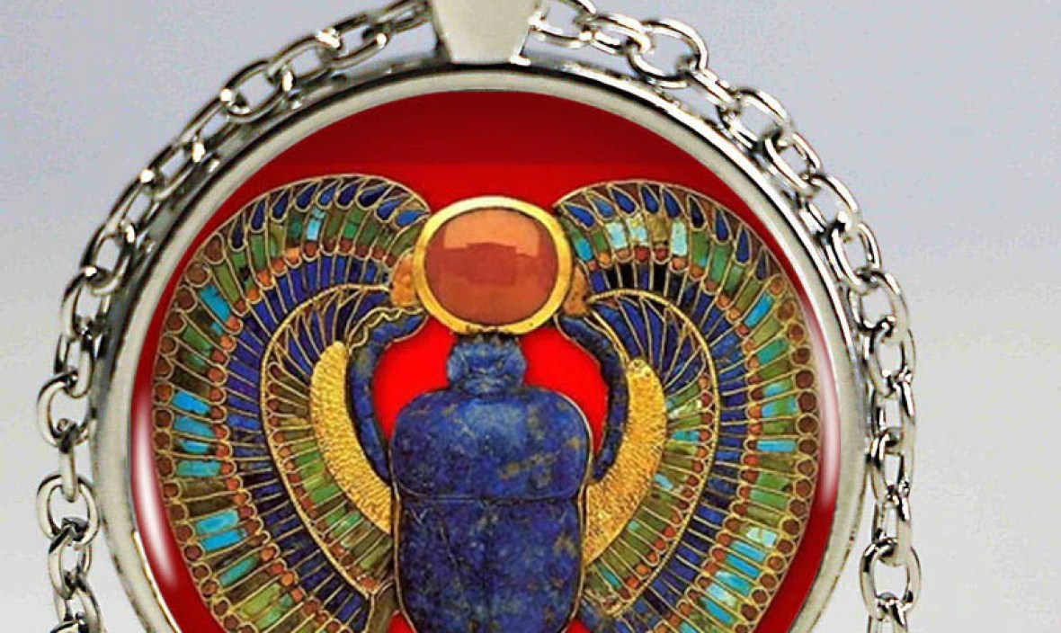 2016 Fashion Egyptian Scarab Necklace, ancient egypt jewelry, Egypt necklace, Egyptian jewelry For Women,4 colors for choosing