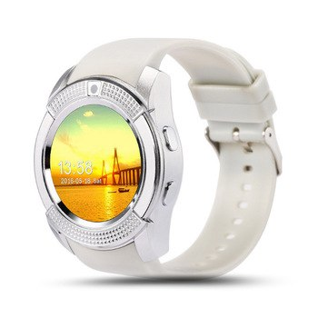 Smart Watch Women/Men Watch Phone For Android IOS V8 Bluetooth Smart Watch Smartwatch Waterproof Can Insert SIM Card To Call