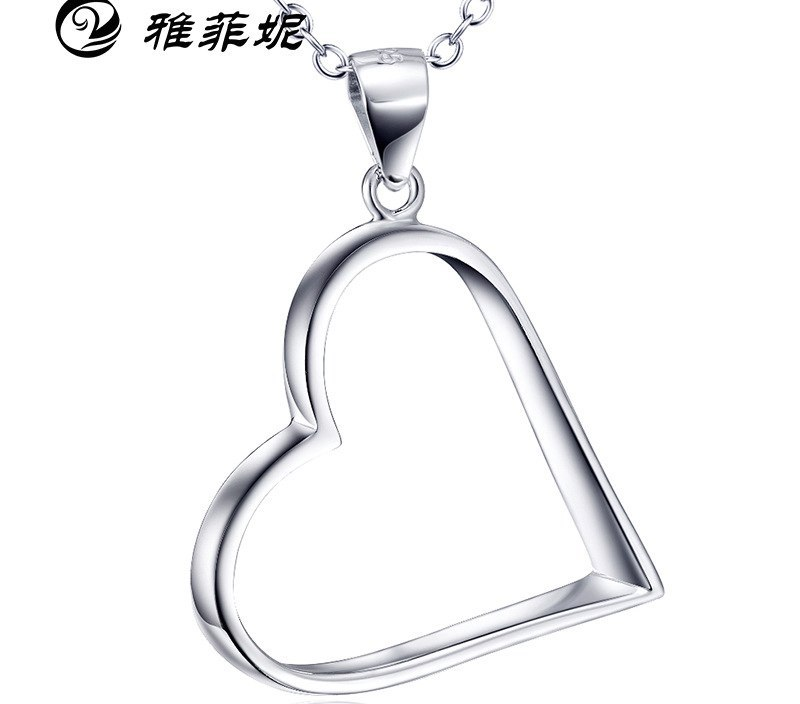 sale of explosive Necklace S925 Sterling Silver Pendant cross border selling silver jewelry manufacturers direct sale