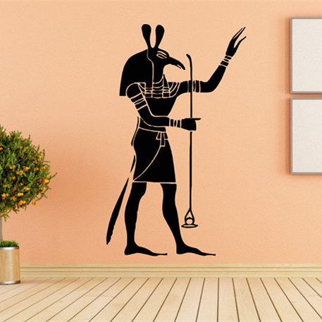 Egypt Home Decor  Ancient Egypt Decals  Gods Of Ancient Wall Decal  Egyptian Mythology Wall Sticker Ancient Cultural Mural AZ279