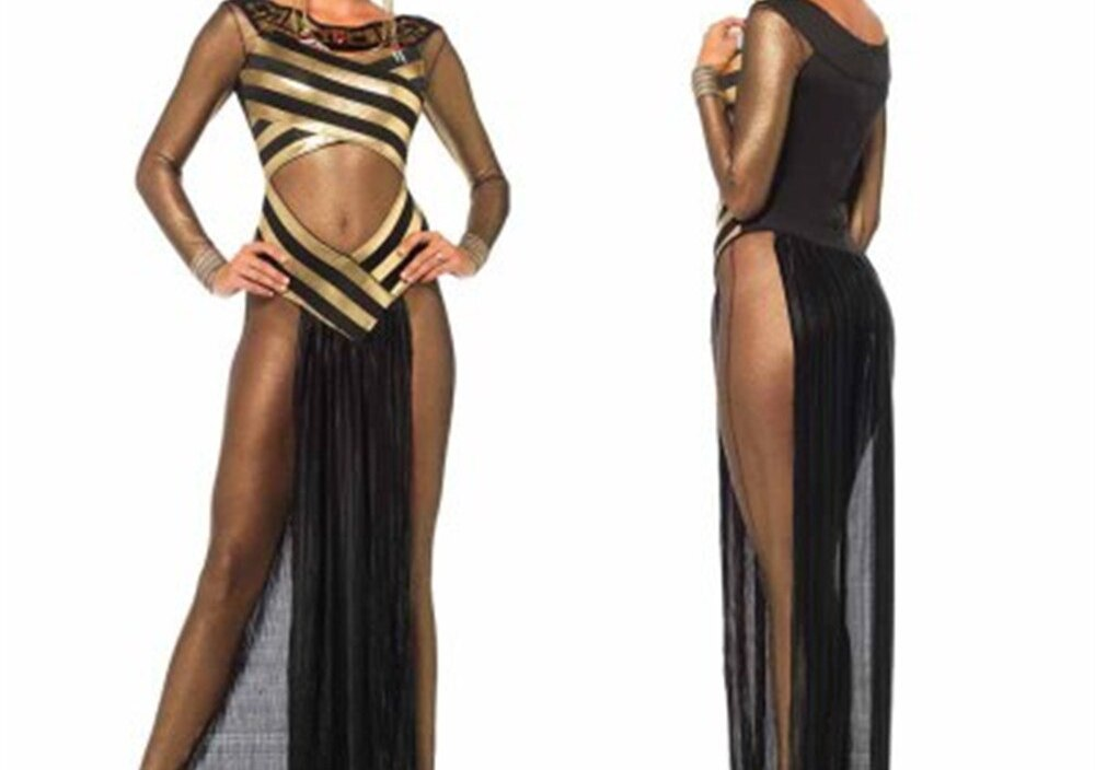 Ancient Egypt Queen Of the Nile Cosplay Costume Egyptian Cleopatra Dress Adult Women cosplay Costume Fantasy Halloween Costume