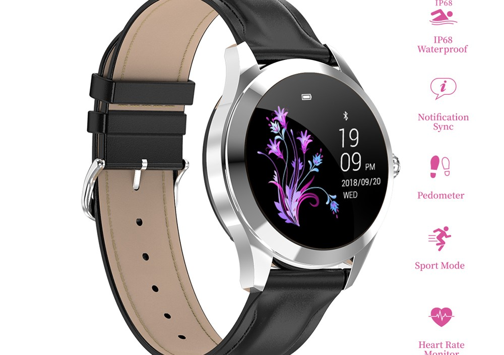 Smart Watch Heart Rate Monitor Women Smartwatch IP68 Waterproof Smart Band Sport Bluetooth Watch For Android IOS Fitness Watch