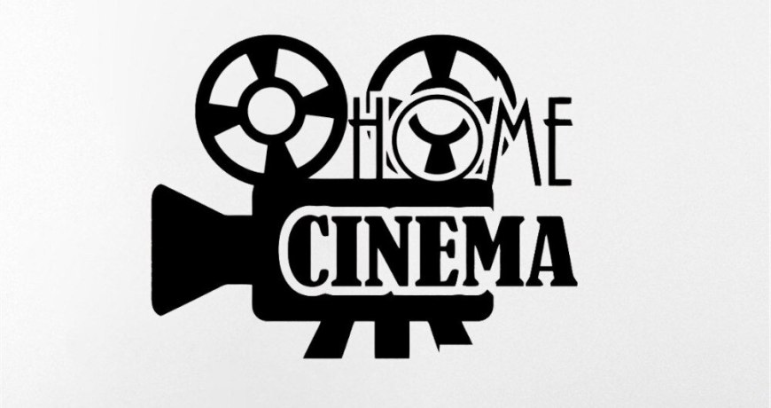JOYRESIDE Cinema Wall Movie Film Sticker Video Decals Vinyl Kids Room Bedroom Living room Playroom Home Designs Art Mural A1455