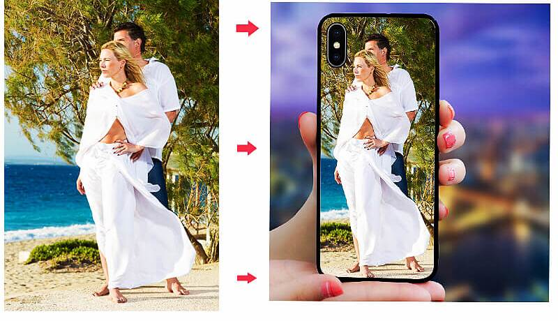 DIY Phone Case for iphone 7 plus x xs Max Xr 6 6s 8 plus DIY at home Design Photo Tempered glass back Cover Case for iphone x