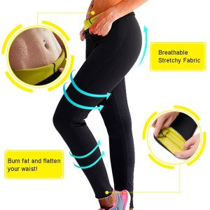 Shapers Nine-Pants Fitness Leggings CFR Women with Tummy-Control Trouse S-3XL Weight-Loss