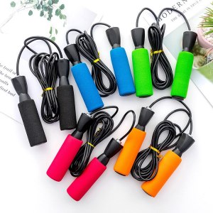 Weight loss fitness training jump rope Student fitness wire skipping PVC training skipping rope