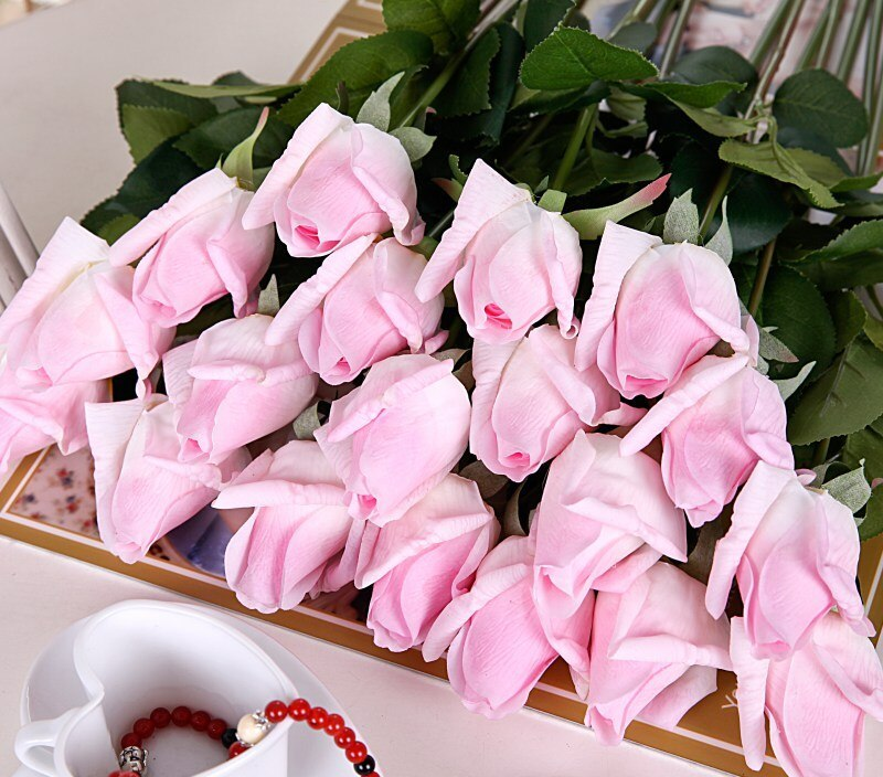 Artificial Flowers Silk Wedding Home Design Bouquet Decoration Artificial Flowers Rose Decoration Flowers