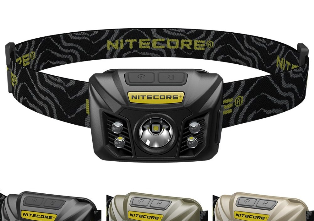 SALE NITECORE NU32 White + Red Light CREE XP-G3 S3 LED Rechargeable built-in Battery Headlamp CRI Outdoor Camping Search 3Colors