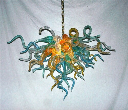 Hot Sale Energy Saving China Factory-outlet Blown Glass Chandelier Ornament for Home Design