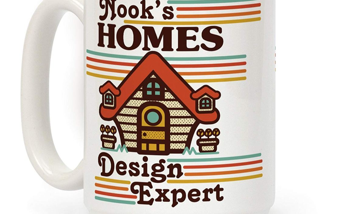 Nook's Homes Design Expert White 11 Ounce Ceramic Coffee Mug