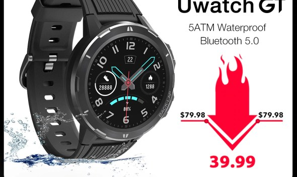 UMIDIGI Uwatch GT Smart Watch 5ATM Waterproof Bluetooth Smartwatch 15 Days Standby Sport Band Heart Rate Monitor For Android iOS