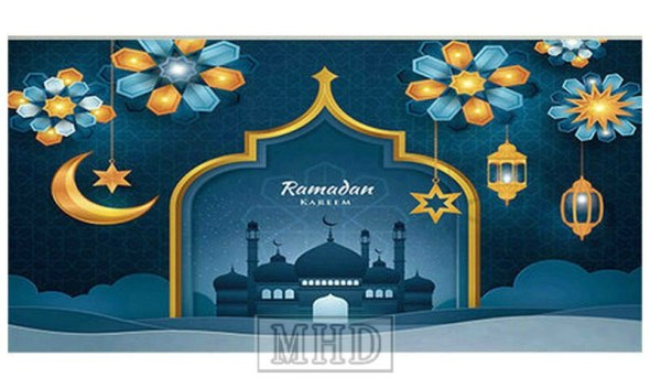 Ramadan Gift 5d Diy Diamond Painting Mosque Islamic Icon Full Square / Round 3d Diamond Embroidery 100% Resin Diamond Mosaic