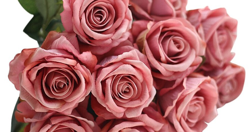 10 Head Latex Rose Flowers For Wedding Party Home Design Bouquet Decor Rose Wedding Fake Flowers Festival Supplies Home Decor