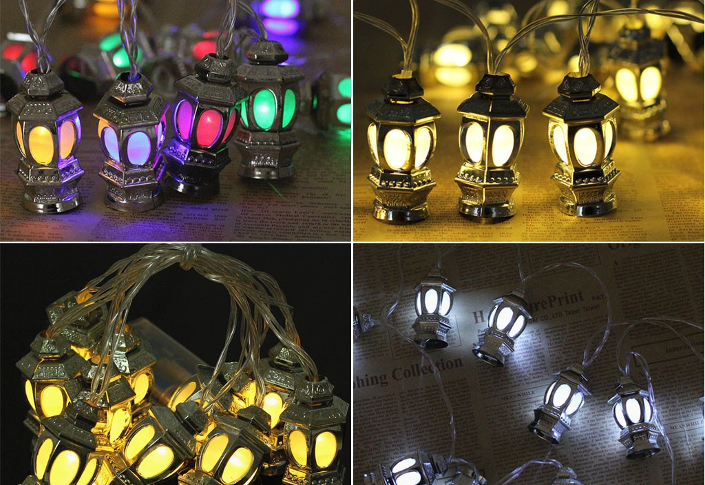 Ramadan And Eid Decor Lights LED Lights Home Festival Party Festival Favor Nice Guirlande Lumineuse Exterieur