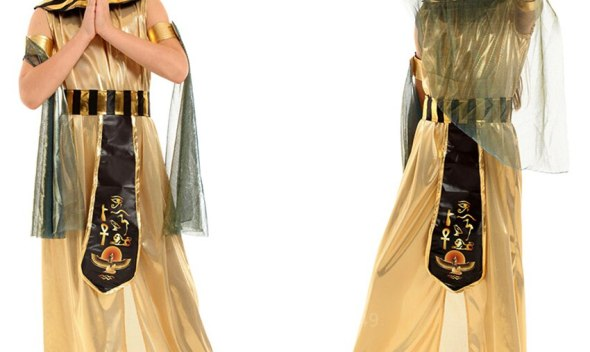 Ancient Egypt Egyptian Pharaoh Cleopatra PrincessChildren Halloween Costumes for Girl Kids Cosplay Carnival Party Fancy Dress