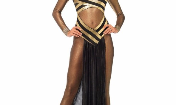 Ancient Egypt Egyptian Cleopatra Queen Costume Halloween Cosplay Fancy Dress For Adults Women Performance wear