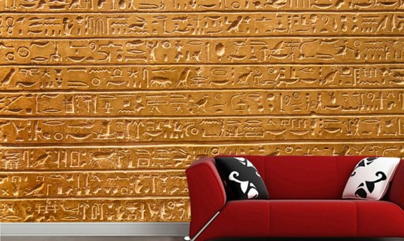 Ancient egypt hieroglyph wall 3d wallpaper papel de parede,living room TV wall bedroom wall papers home deocr restaurant mural