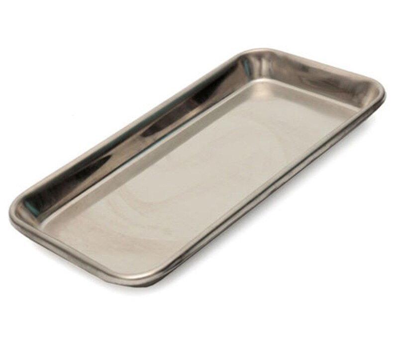 Stainless Steel Dental Sterilizer Dish Holder Tray Medical Instrument Tool New