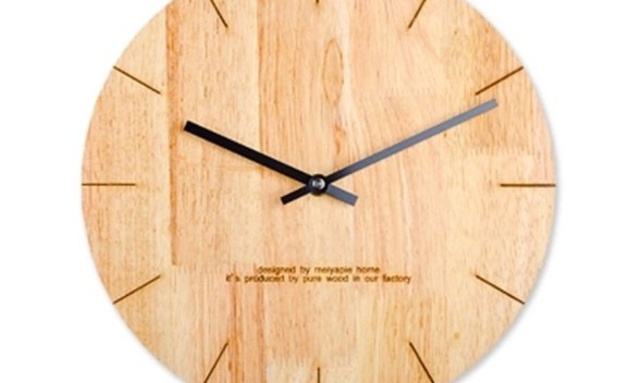 Silent Wooden Wall Clock Large Saatk Modern Design Electronic Deco Salon Retro Seahawks Parete Big Home Design Wall Decor QZE295