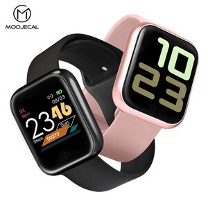 Smart Watch Women Men Electronics Sport Wrist Watch For Android IOS Square Smartwatch Fitness Tracker Smart Clock Hours