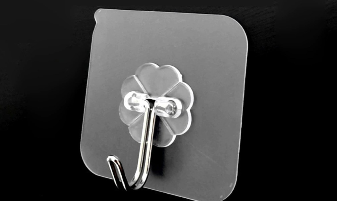 HOMIE Stainless steelWall Strong Suction Cup Hook Hangers Vacuum Sucker 6cm*6cm Removable Bathroom Kitchen Wall Strong Hook