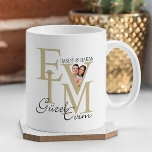 Personalized Home Sweet Home Design White Mug Cup-2