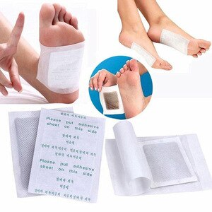 Weight loss herbal foot stickers detox paste foot stickers remove toxins foot stickers help sleep skin care pads