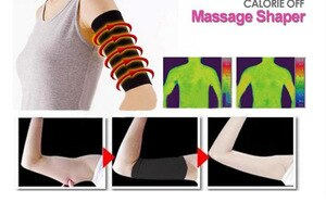 Weight Loss Arm Shaper Fat Buster Off Cellulite Slimming Wrap Belt Personal Care Tool