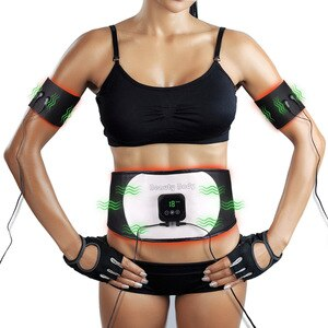 Weight Loss Products EMS Muscle Vibration Massage Fat Burner Health Care Slimming Machine Body Shaper Fitness Trainer Waist Belt