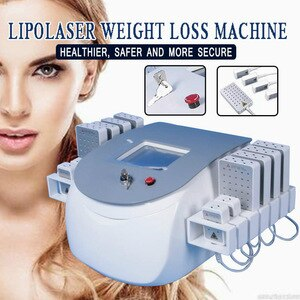 Weight Loss Artifact Mini Lipo Laser Slimming With 25 Pcs Mini Home Use Fat Reduce Lipolaser Pads Slim Ce Free Shipping