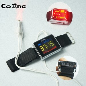 Medical Equipment Laser Therapy Watch for Rhinitis Diabetes Hypertension Thrombosis Cholesterol Laser Irradiation Instrument