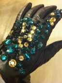Jewelled gloves, H&M, £35