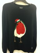 Christmas robin jumper, Top Shop, £50