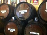 Sherry tasting in Malaga, June 2012