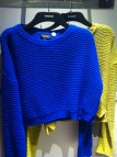 Bright cropped jumpers, Top Shop, £30