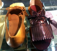 Leather shoe sandals, £69